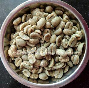 Ongeroosterde koffiebonen