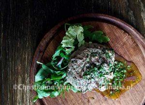 Geroosterde biefstuk met chimichurri
