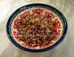 Eenvoudige kasha, naar een recept uit de negentiende eeuw