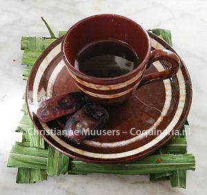 Arabische koffie van kant en klaar mengsel