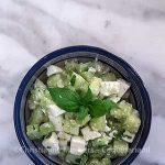 Egyptische komkommersalade