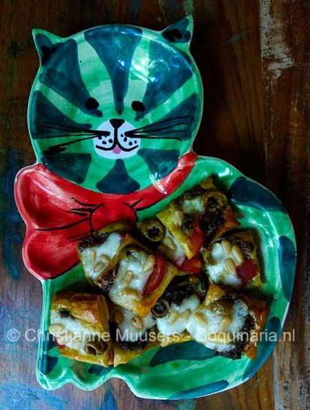 Italiaanse mozarellakoekjes